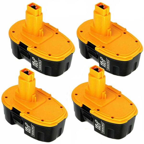 4 Pack For Dewalt 18V XRP Battery Replacement | DC9096 2.0Ah  Battery