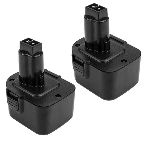 For Dewalt 12V Battery Replacement | XRP DC9071 DW9072 DC742KA DE9074 3600mAH Battery (2 Pack)
