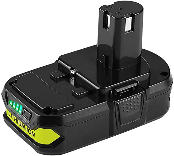 For Ryobi 18V Battery Replacement | P102 2.0Ah Li-ion Battery