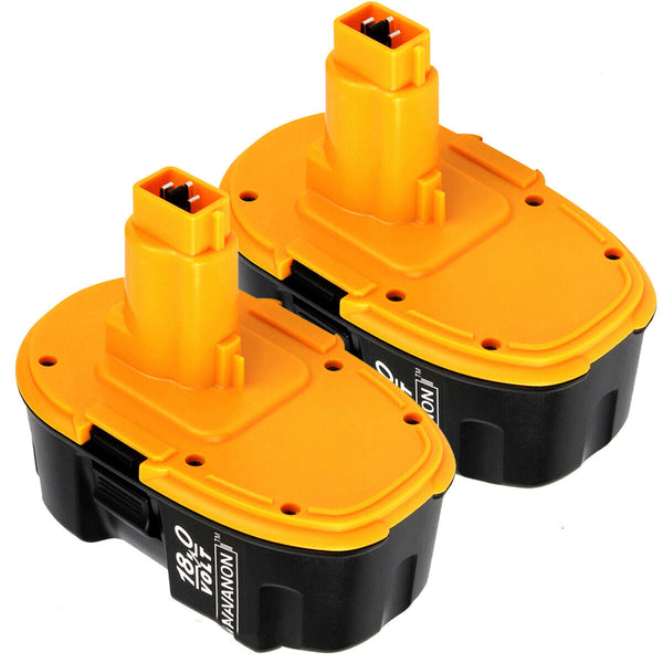 For Dewalt 18V XRP Battery Replacement | DC9096 2.0Ah  Battery 2 Pack
