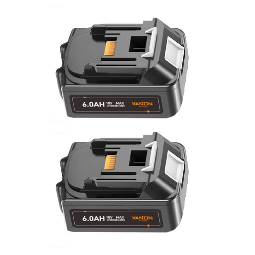 For Makita 18V LXT Battery 6Ah Replacement | BL1860B Batteries 2 Pack