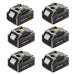 For Makita 18V Battery 6.0Ah Replacement | BL18060B Batteries 6 Pack
