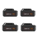 For Makita 18V Battery Replacement | BL1830 3.0Ah Li-ion Battery 4 Pack