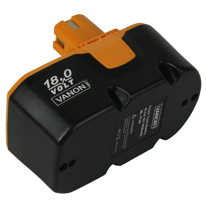 Ryobi 18V Battery Replacement | P100 3.6Ah Ni-MH Battery | right