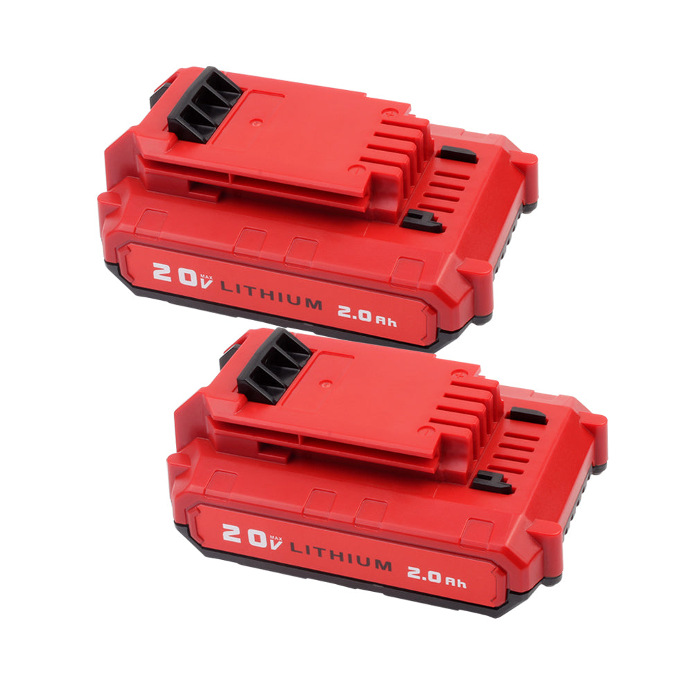 For Porter Cable 20V Battery Replacement | PCC680L 2.0Ah Li-ion Battery 2 Pack - Vanonbattery