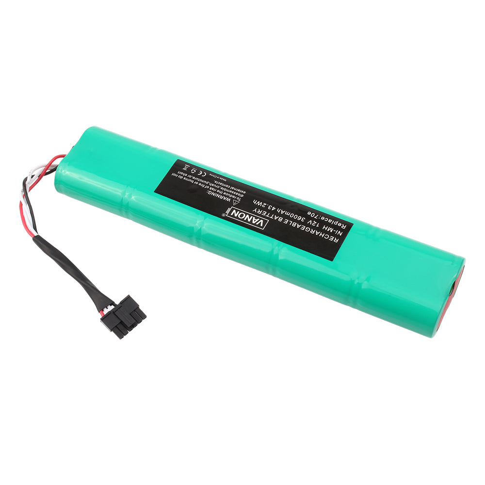For Botvac Series and Botvac D Series Robot Vacuum Cleaner (70e 3600mAh 12V Ni-MH)