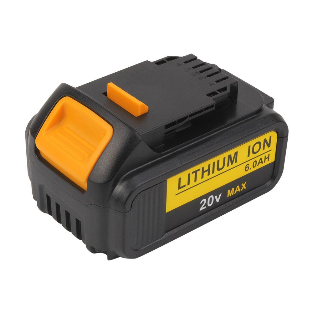 For Dewalt 20V MAX  Battery Replacement | DCB200 6.0Ah Li-ion Battery 4 Pack