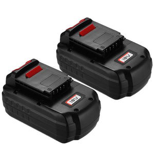 For Porter Cable 18V Battery Replacement | PC18B PCC489N PC188 PCMVC PCXMVC NI-MH 3600mAh Battery(2 Pack)