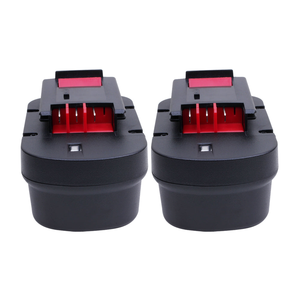2x For Black and Decker 14.4V HPB14 Battery Replacement | 2.0Ah Ni-Cd Battery - Vanonbattery