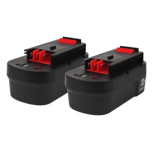 2x For Black and Decker 18V HPB18 Battery Replacement | 3.0Ah Ni-CD Battery - Vanonbattery