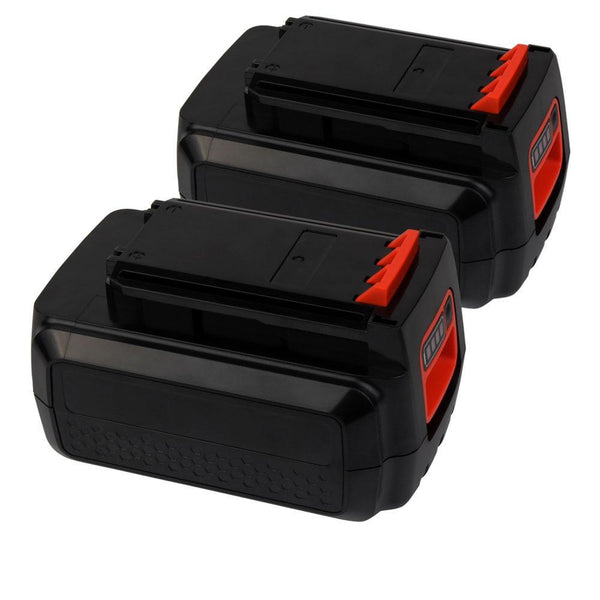 For Black and Decker 36V Battery Replacement | LBXR36 2.0Ah Li-ion Battery 2 Pack