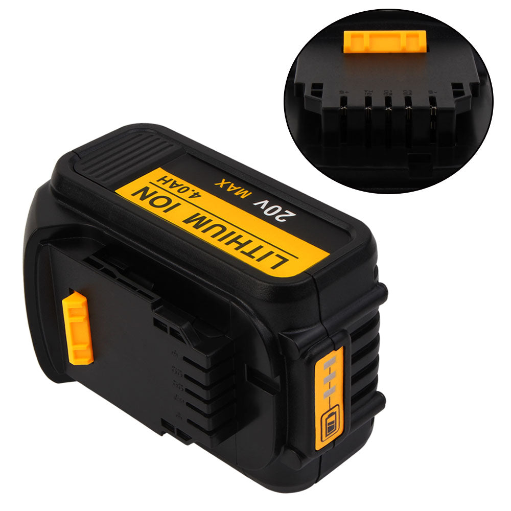 4 Pack For Dewalt 20V Battery Replacement | DCB200 4.0Ah Li-ion Battery - Vanonbattery