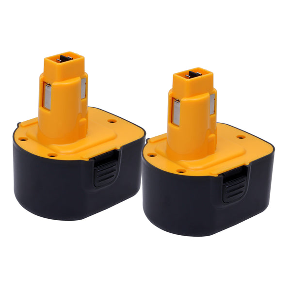 For Dewalt 12V Battery Replacement | DC9071 2.0Ah Ni-CD Battery 2 Pack