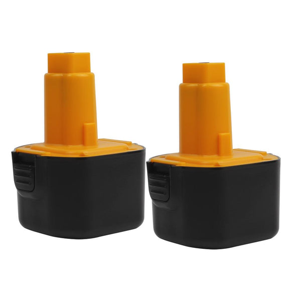 For Dewalt 9.6V Battery Replacement | DC9062 2.0Ah Ni-CD Battery 2 Pack - Vanonbattery