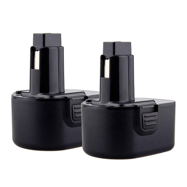 For Dewalt 12V Battery Replacement | DC9071 2.0Ah Ni-CD Battery 2 Pack - Vanonbattery