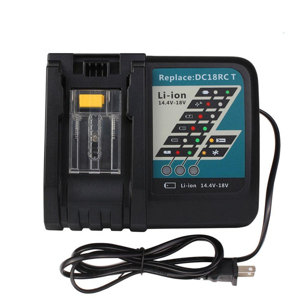 For Makita 14.4V-18V Li-ion Battery 7A DC18RC Charger - Vanonbattery