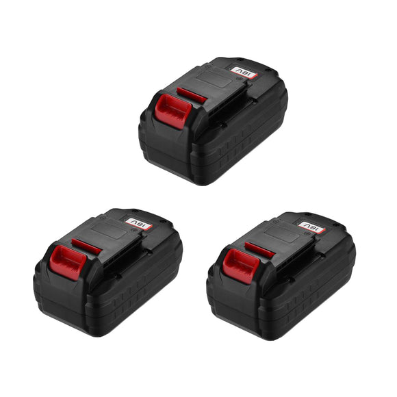 3 Pack For Porter Cable 18V PC18B 3.0Ah Battery Replacement | Ni-Cd Battery | PCMVC PCXMVC PCC489N