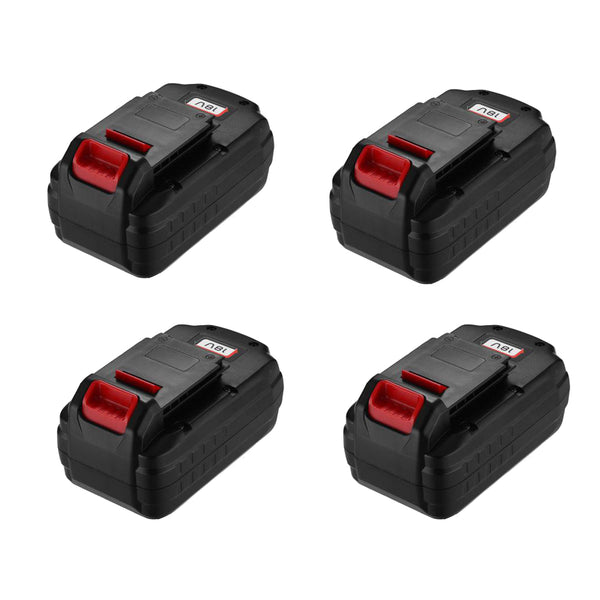 4 Pack For Porter Cable 18V PC18B 3.0Ah Battery Replacement | Ni-Cd Battery | PCMVC PCXMVC PCC489N