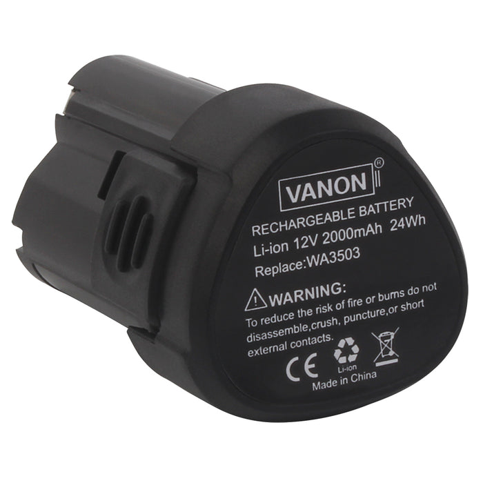 For Worx 12V Battery Replacement | WA3503 2.0Ah Li-ion Battery - Vanonbattery