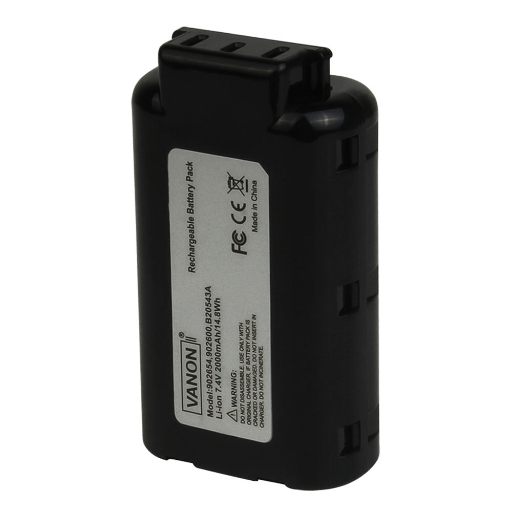 For Paslode 7.4V Nail Gun Battery Replacement | 902654 2.0Ah Li-ion Battery