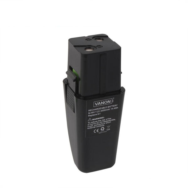 For Ontel Swivel Sweeper 7.2V Battery Replacement | G1 & G2 2.0Ah Ni-MH Battery - Vanonbattery