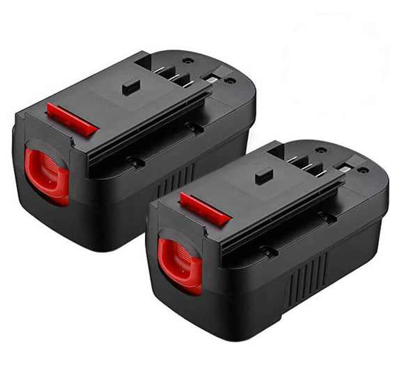 For Black and Decker 18V Battery Replacement | Hpb18 Batteries 3600mAh (2 Pack)