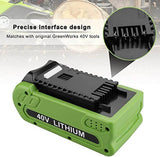 Greenworks Battery 40V 6Ah | For G-MAX 29472 29462 Batteries | design