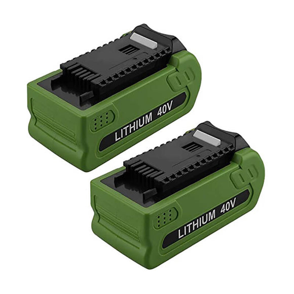 For Greenworks 40v Battery 5Ah | For G-MAX 29472 29462 Batteries 2 Pack (Not for Gen 1)