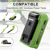 Greenworks Battery 40V 6Ah | For G-MAX 29472 29462 Batteries | tools
