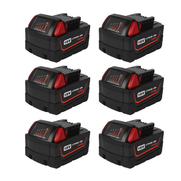 milwaukee-18v-4ah-battery-6-pack