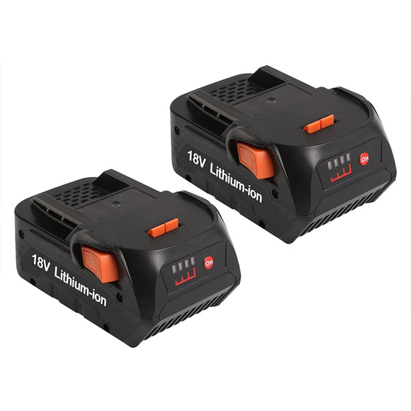For Rigid 18V Battery 6Ah Replacement | R840087 Battery 2 Pack ( Li-ion )