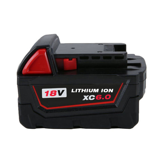 For Milwaukee 18V 6.0Ah Battery Replacement | 48-11-1850 Li-ion Battery | Vanonbatteries