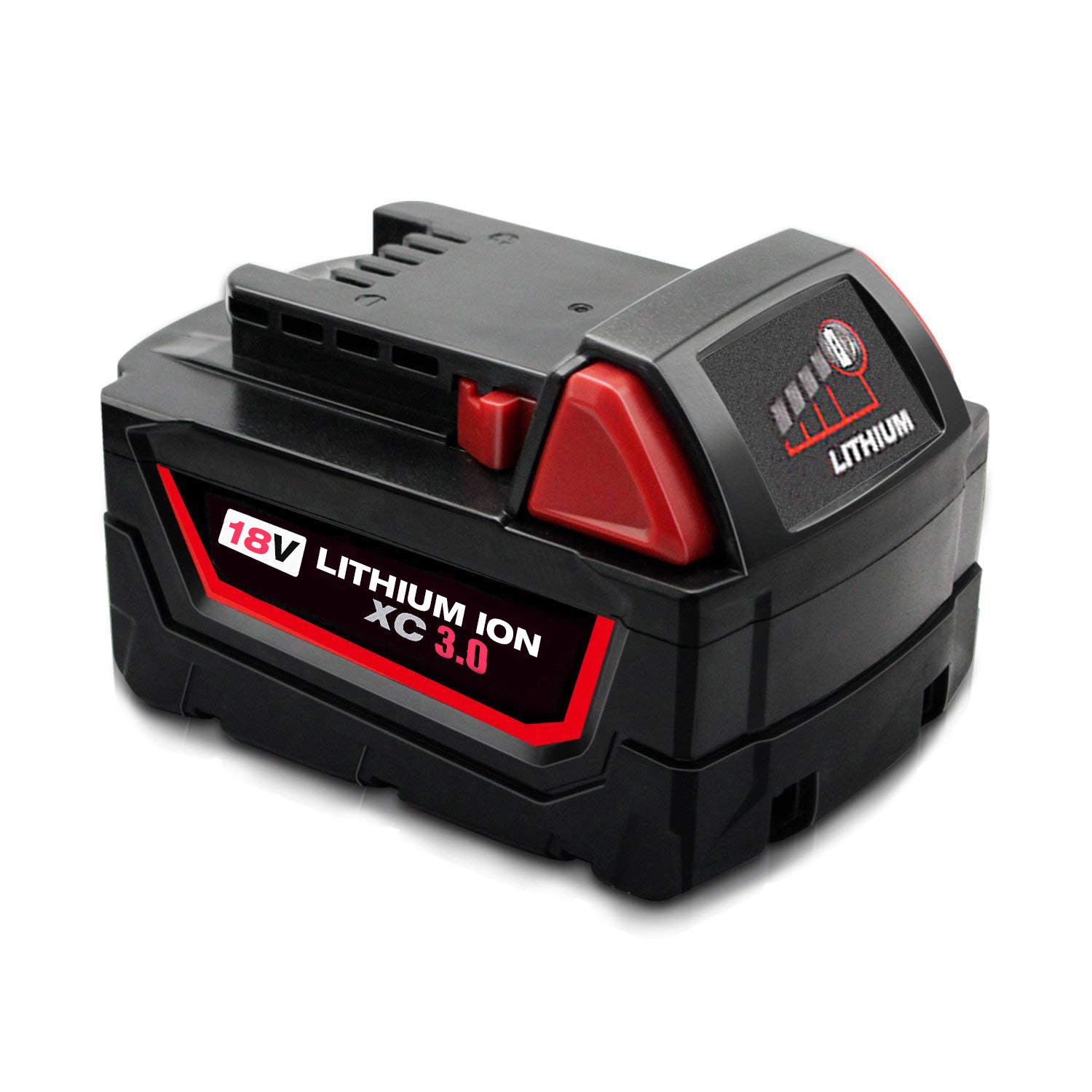 For Milwaukee 18V Battery Replacement | 48-11-1850 3.0Ah Li-Ion Battery