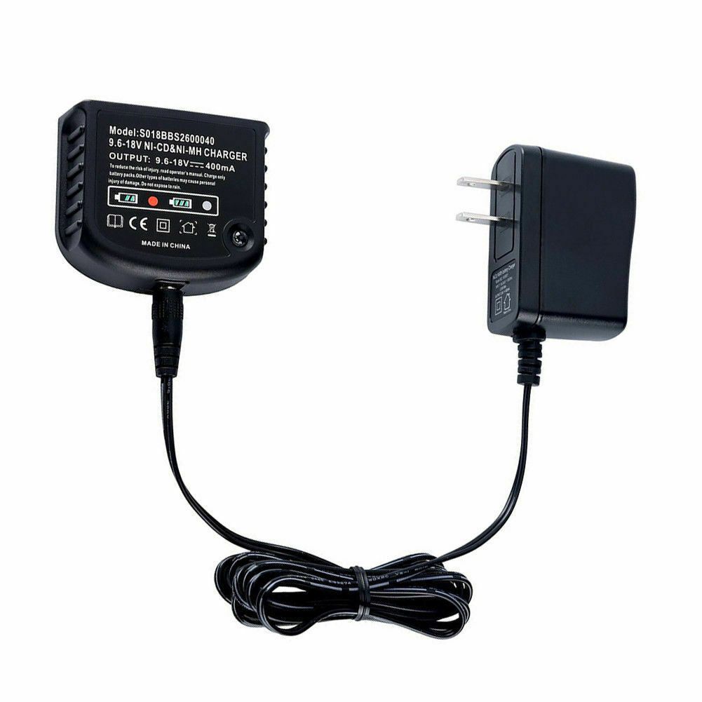 For Black and Decker C18N 9.6V-18V Battery Charger | Ni-Cd & Ni-MH