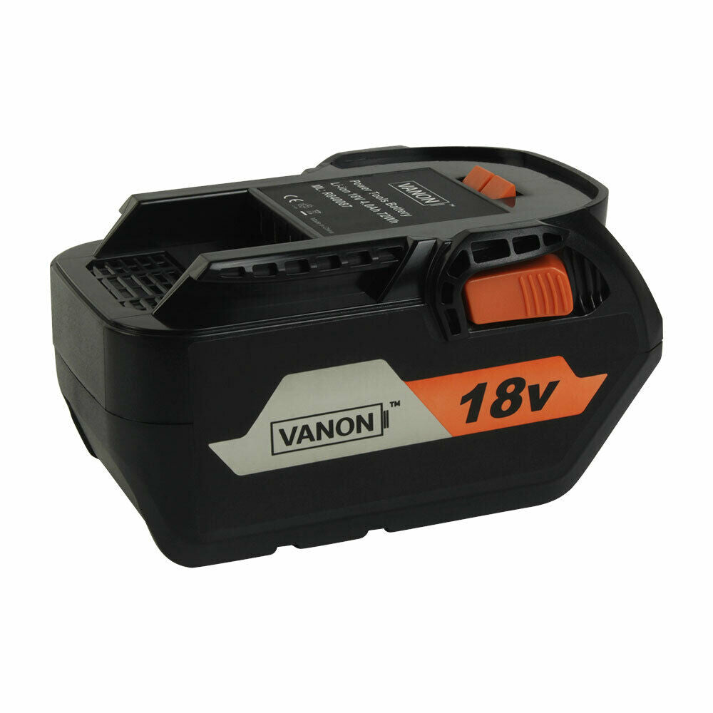 For RIDGID 18V Battery Replacement | R84008 Li-Ion High Capacity Battery 4.0Ah