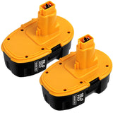 For DeWalt 18V XRP 4.0Ah  Batteries Replacement |  DC9096  Battery 2 Pack