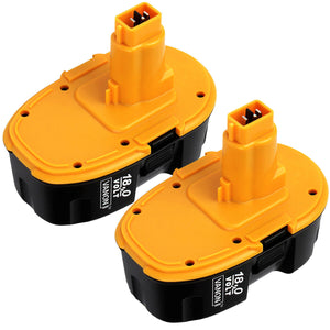 For DeWalt 18V XRP Batteries 3.0Ah Replacement |  DC9096  Battery 2 Pack