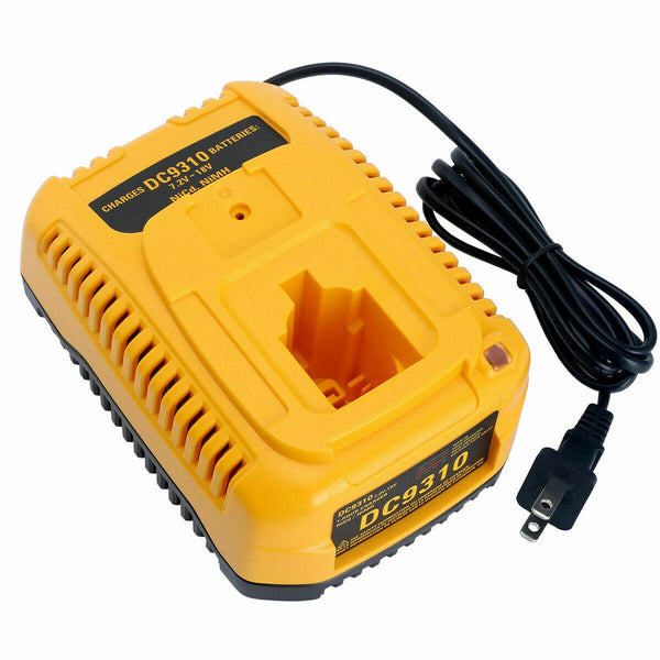DC9310 Fast Battery Charger For Dewalt 7.2V-18V XRP NI-CD NI-MH Battery