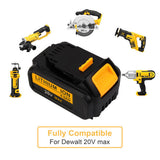 Vanon batteries for Dewalt can be fully compatible for Dewalt 20v MAX