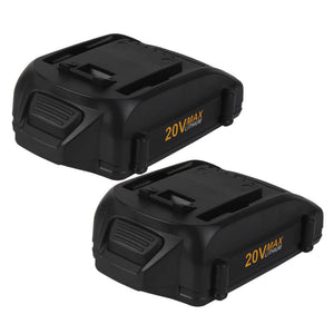 For Worx 20V Battery Replacement 3Ah | WA3520 Battery 2 Pack