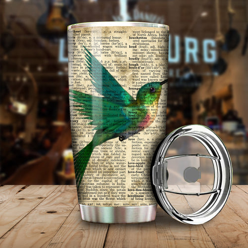 Humming Bird Beauty Art Tumbler