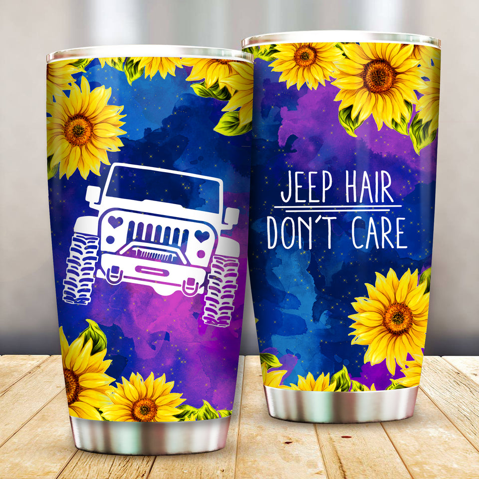 Jeep Hair Don't Care Tumbler