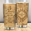 The Marauder's Map Solemnly HP Couple Tumbler