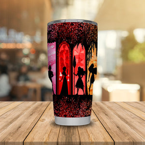 All DN Princess Characters Art Tumbler