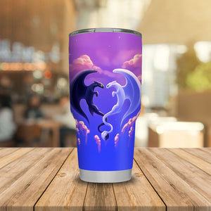 Heart In The Sky Dragon Love HTTYD Tumbler