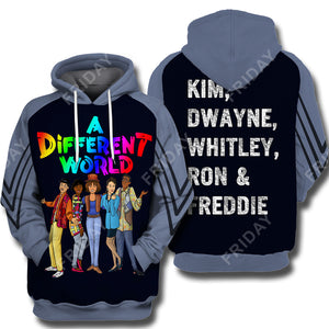 A Different World 3D Print Hoodie T-shirt