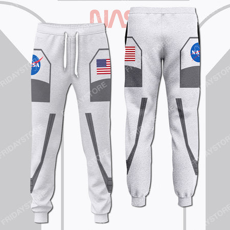 New Spacesuits Astronauts Costume Pants - Jogger
