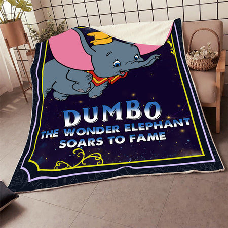 DB THE WONDER ELEPHANT SOARS TO FAME BLANKET