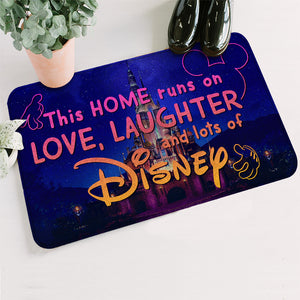 This Home Runs On Love Laughter And Lots Of DN Doormat