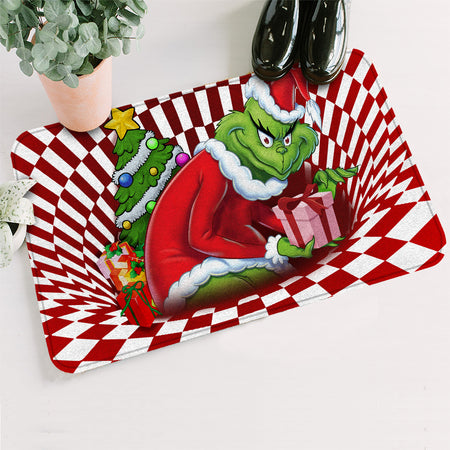 TG Stolen G Illusion 3D Christmas Doormat